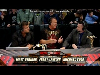 �Royal Rumble� ��� ������ Switchfoot - Dark Horses [WWE Royal Rumble 2012]. Picrolla